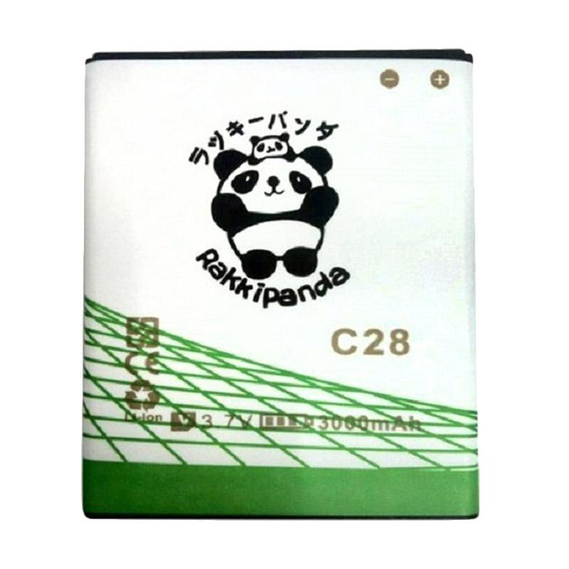 RAKKIPANDA Baterai for EVERCOSS C28 [DOUBLE POWER/DOUBLE IC]