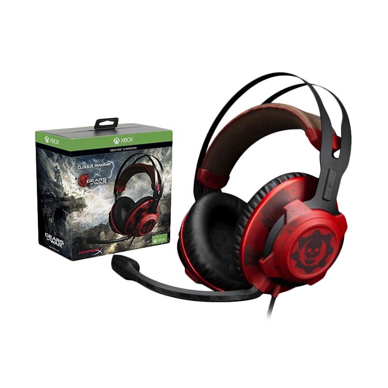 HyperX CloudX Revolver Gears of War Gaming Headet - Red