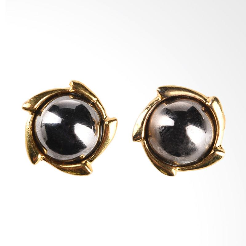 1901 Jewelry Chitra Indica Studs GW.561.HR23 - Gold