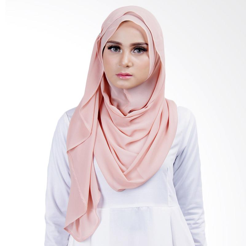 Cantik Kerudung Lizzie Slip In Jilbab Instant - Pale Pink