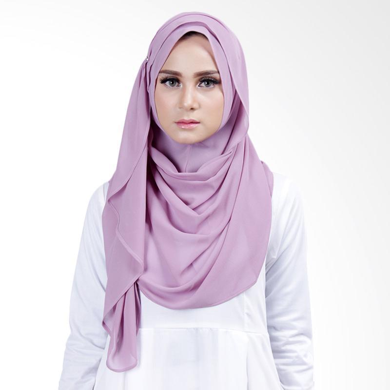 Cantik Kerudung Lizzie Slip In Jilbab Instant ��� Dusty Purple