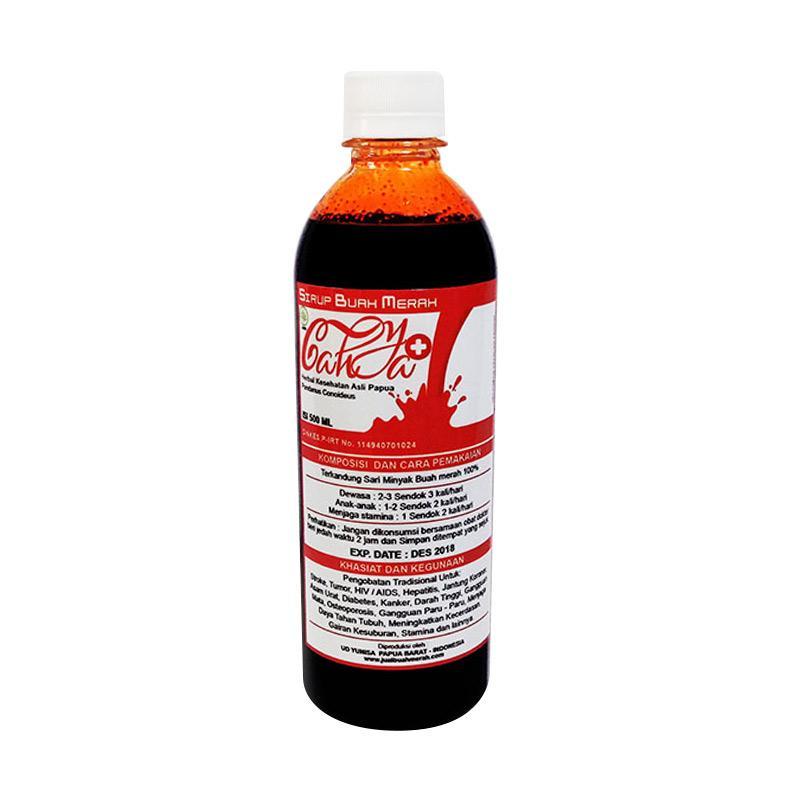 Cahya Herbal Papua Buah Merah Papua Suplemen [500 mL/Besar]