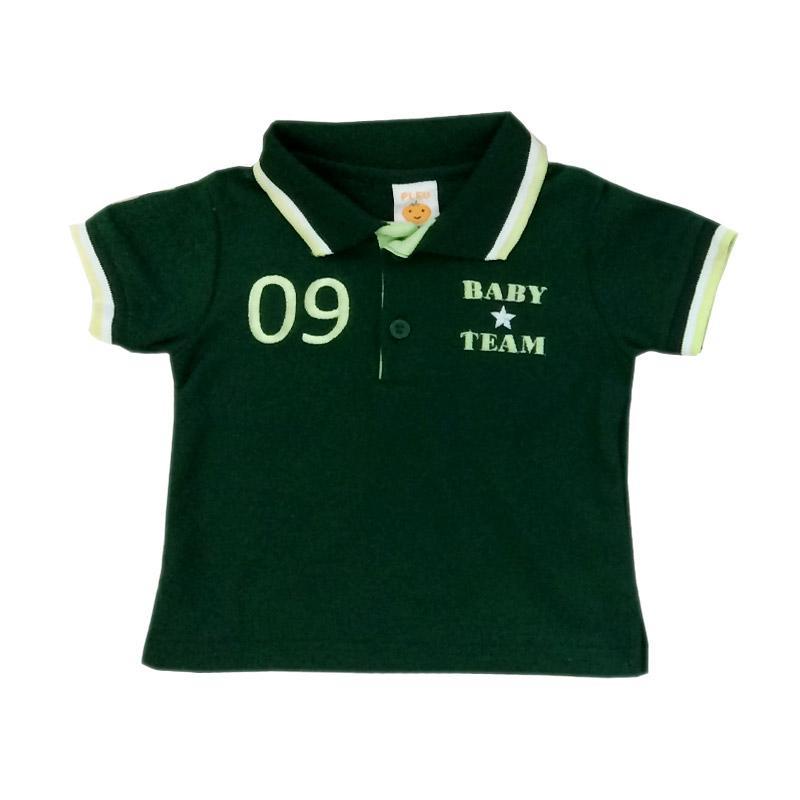 Pleu WK-Lacoste Babyteam Wangki Baju Atasan - Hijau