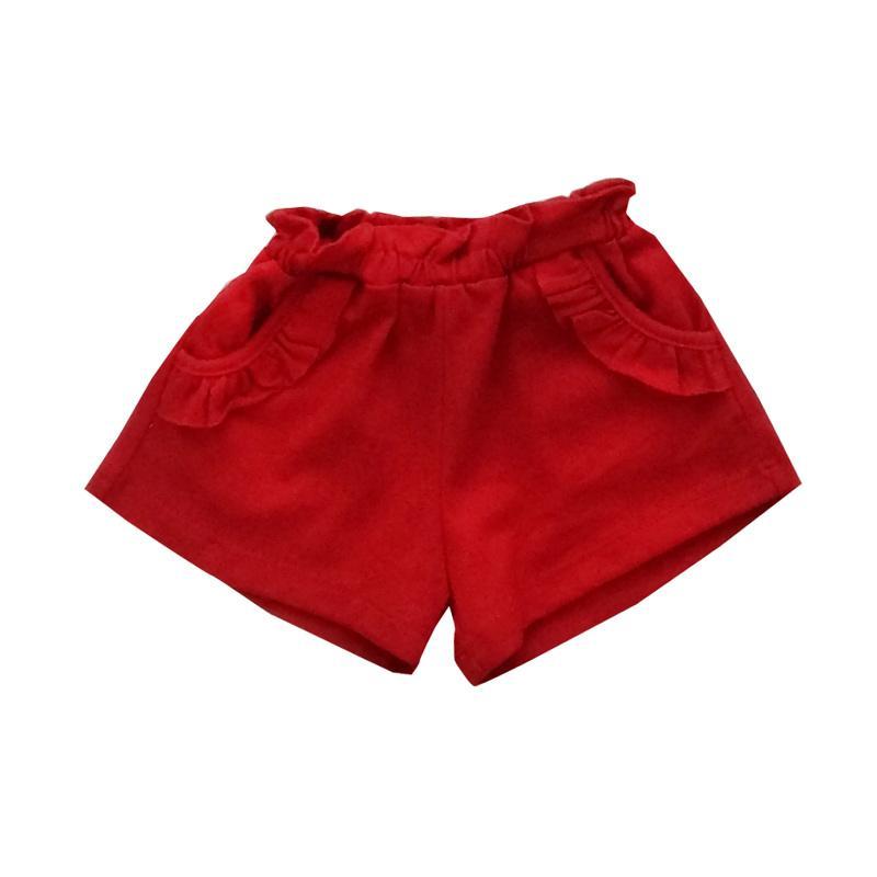 PLEU Celana Pendek Girl - Merah