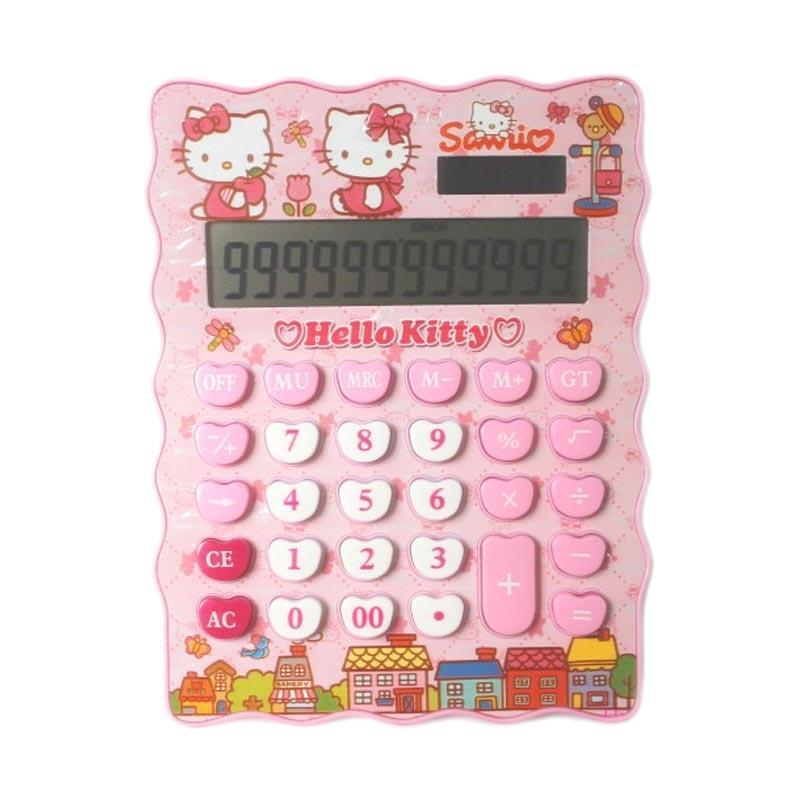 Sanrio Hello Kitty Kalkulator - Pink