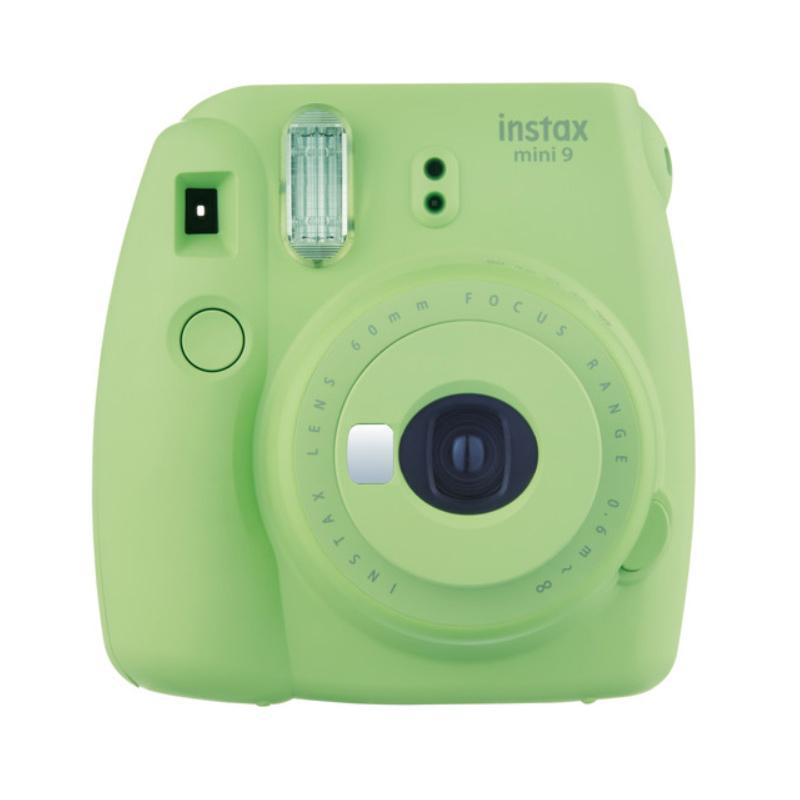 Fujifilm Instax Mini 9 Instant Film Camera - Lime Green