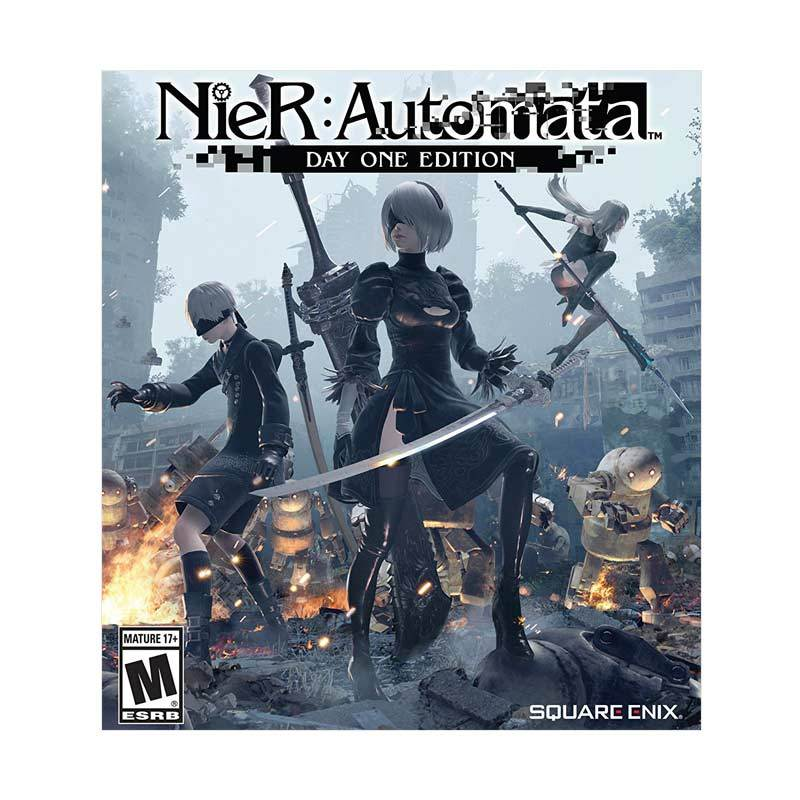 Nier Automata DVD Game for PC