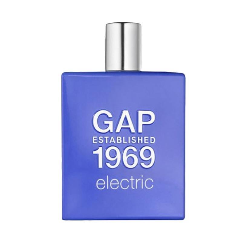 GAP Established 1969 Electric Man EDT Parfum Pria [100mL]