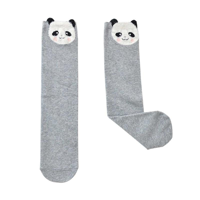 Chloebaby Shop s268b Bear Kaos Kaki Anak - Grey