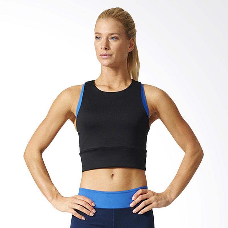 ADIDAS SPEED CROP TANK BQ2167 - Baju Tanktop Olahraga Wanita