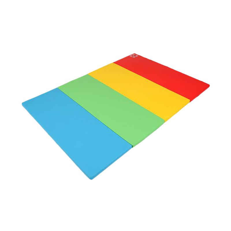 Foldaway Rainbow Play Super Grand Mat Alas Lantai
