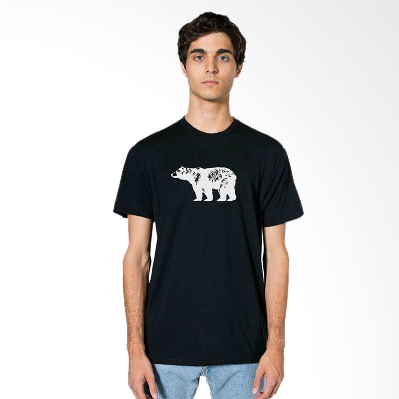 Fraw T-shirt Atasan Pria - Black 36-17