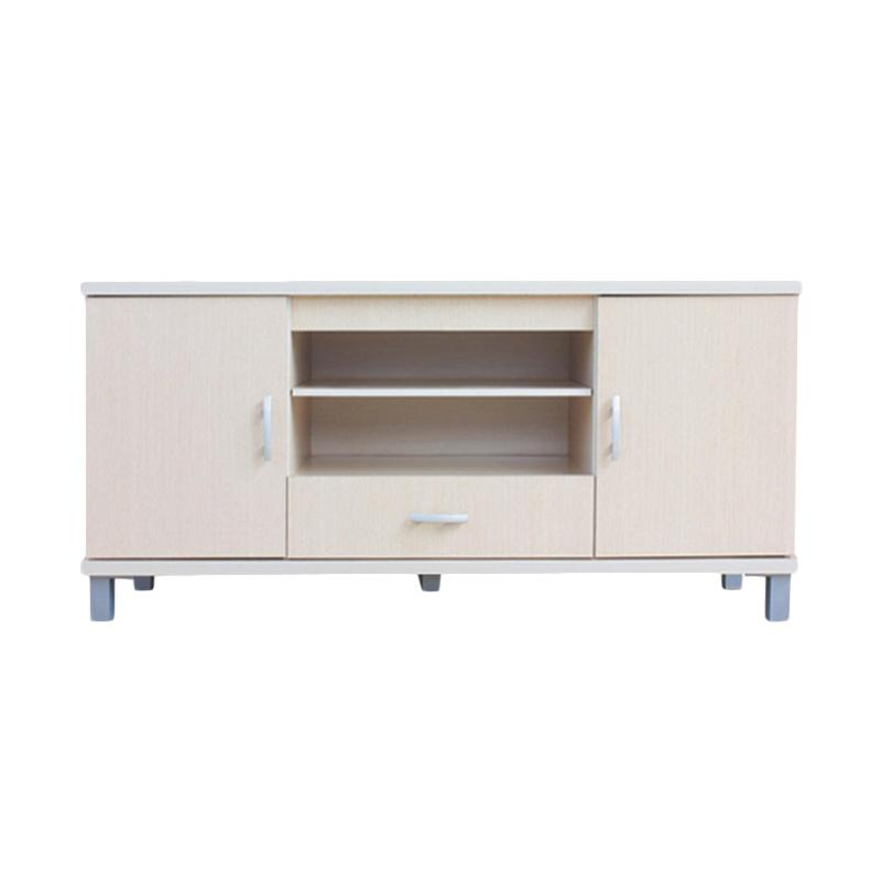 Kirana Furniture BF 828 WO Rak TV - Beige