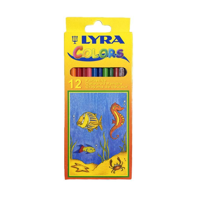Lyra Impor Pensil Warna [12 pcs]