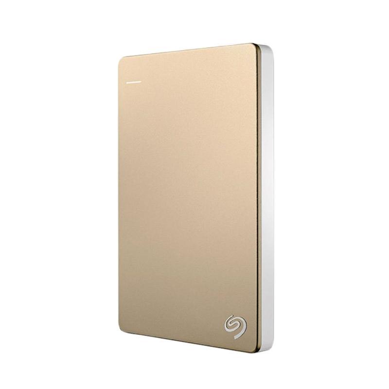 Seagate Backup Plus Slim External Portable Hard Drive - Gold [1 TB/USB 3.0]