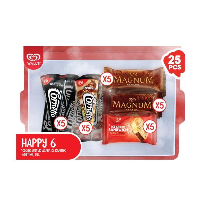 WALL'S Paket HAPPY 6 [Bandung]
