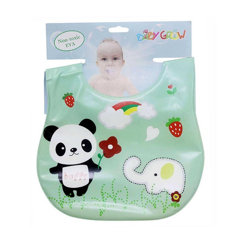 Chloebaby Shop Plastik Panda Happy Baby Grow S273 Bib Sleber Baby