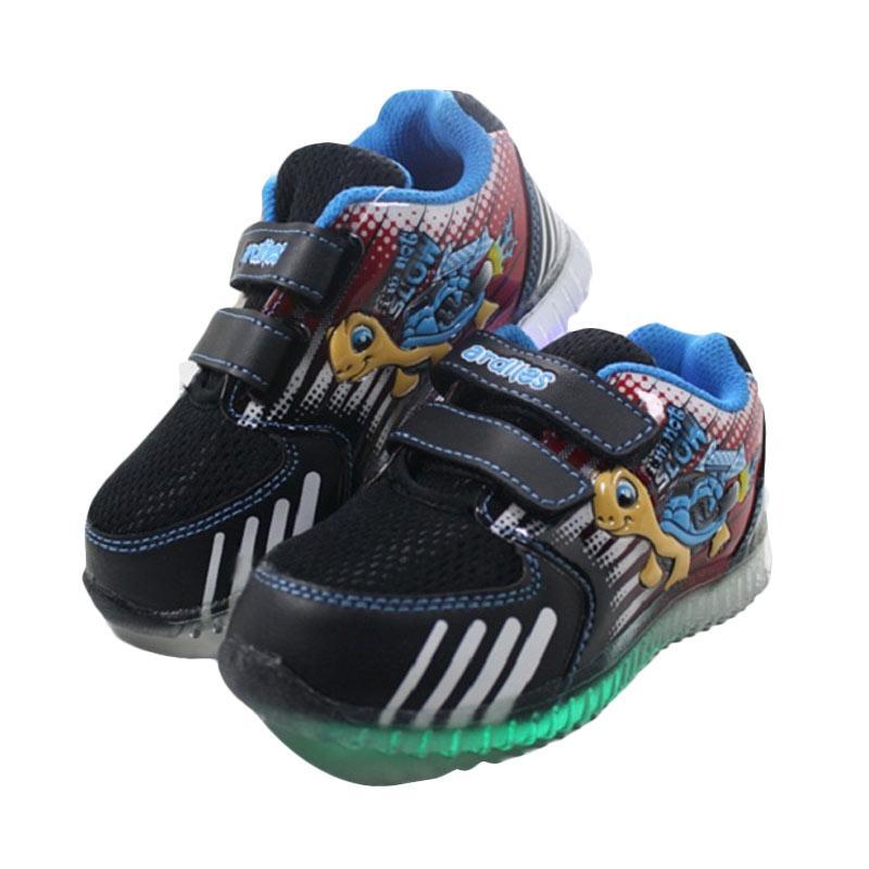 harga Ardiles Lampu Lala Sepatu Anak - Black Blue Blibli.com