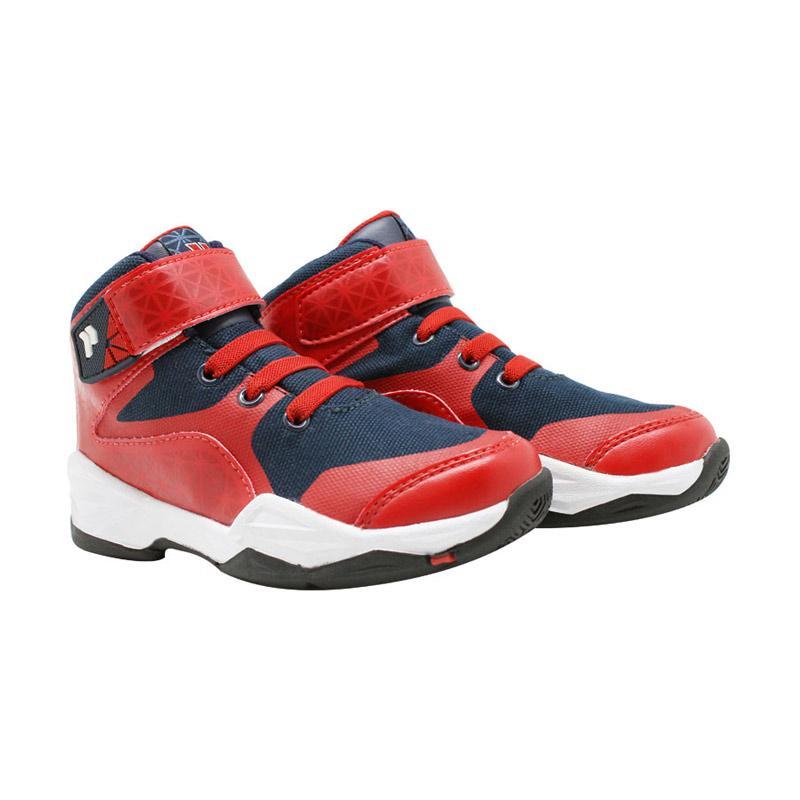 Precise Alphard Sepatu Anak - Merah Biru Tua