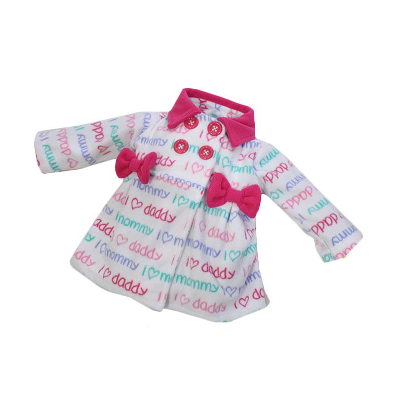 Bibbo Baby Blazer Mommy Daddy Patterns Jaket Bayi Perempuan