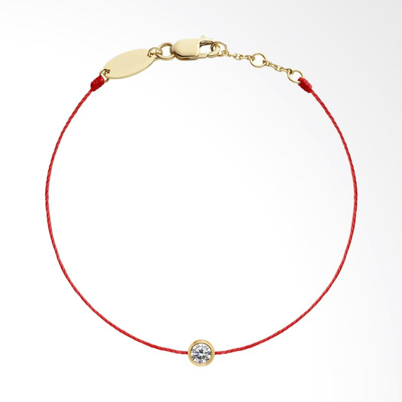 Tiaria Precious Baby Bracelet Perhiasan Gelang Emas - Red String Gold