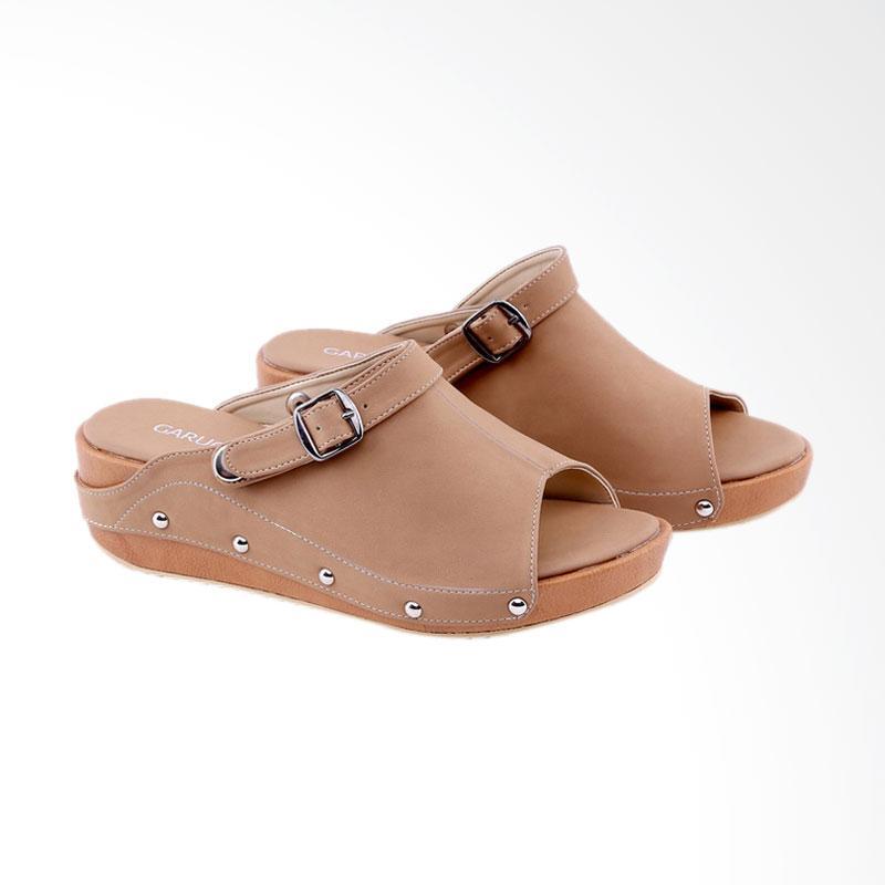 Garucci GNK 5216 Wedges Sandal Wanita - Black