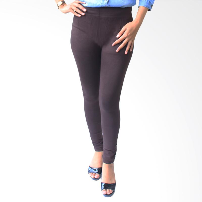 Aily 930 Celana Legging Wanita - Coklat