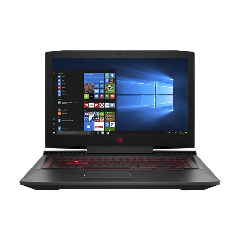 WEB_OMEN by HP 17-AN068TX Gaming Notebook - Black [i7-7700HQ/32 GB/512 GB + 1 TB/NO ODD/GTX 1070 8 GB/17.3