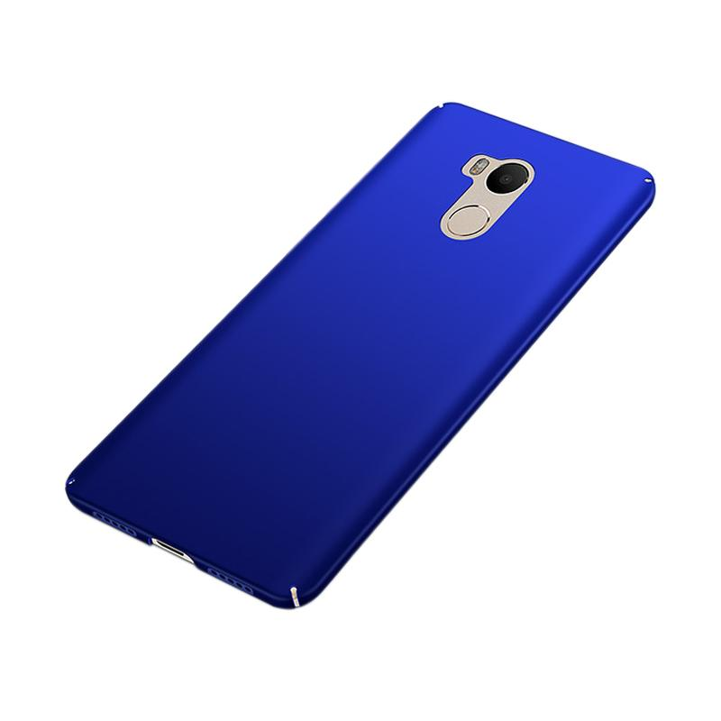 WEIKA Baby Skin Ultra Thin Hardcase Casing for Xiaomi Redmi 4 Prime - Blue