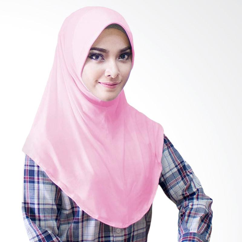 Milyarda Hijab Bergo Jersey Jilbab Instan - Dusty Pink