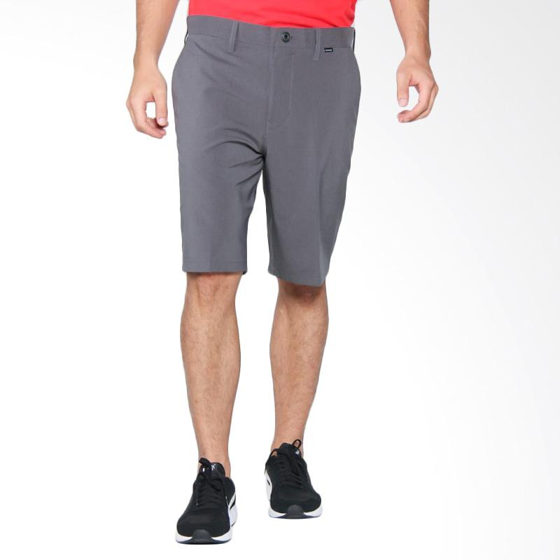 Hurley Dri-Fit Heather 21 Walk Short Celana Pendek - Black [MWS0004530 00A]