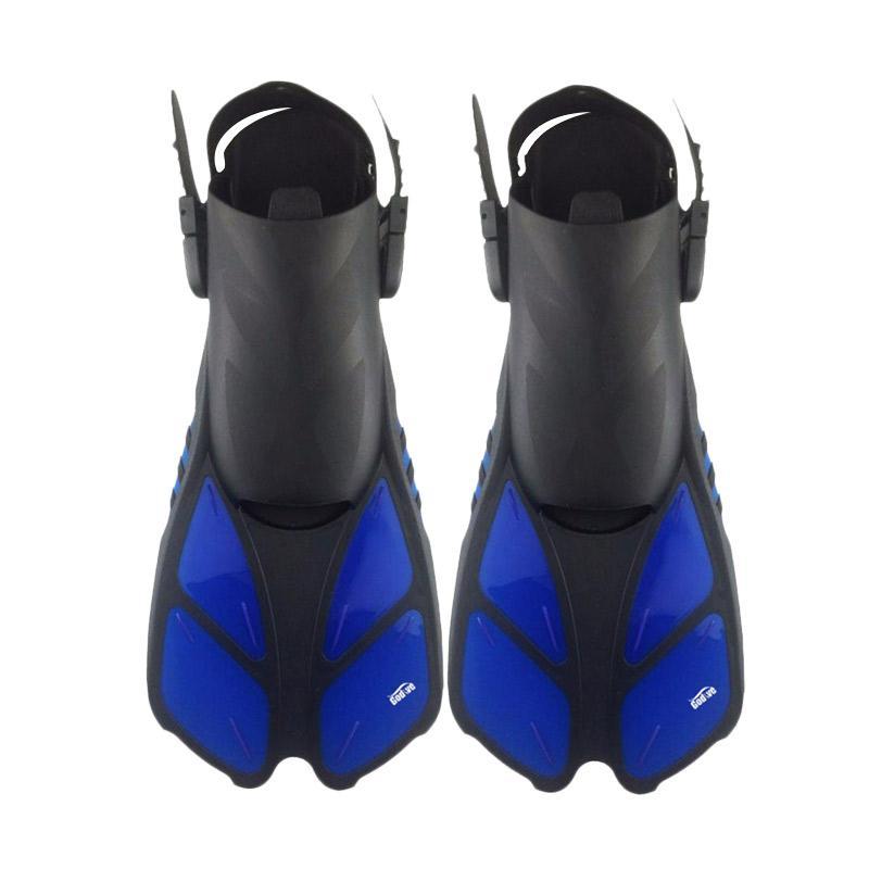 harga Godive Scuba Diving Snorkeling Fin Open Heel - Biru S/M FS-18 Blibli.com
