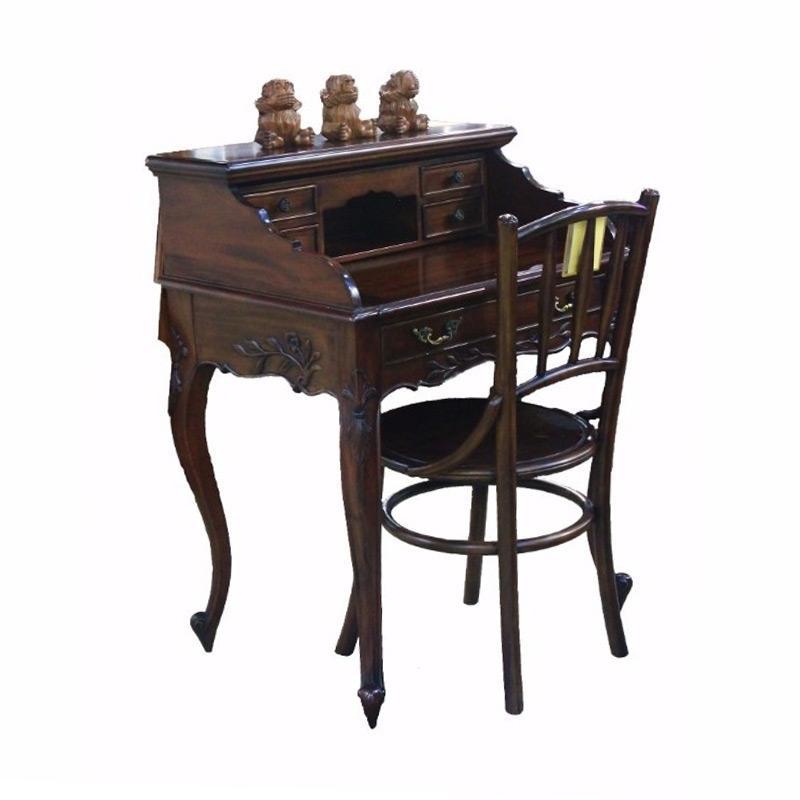 Jual Sen Furniture Kursi French Study Desk And Cowboy Chair Jabodetabek Online November 2020 Blibli Com