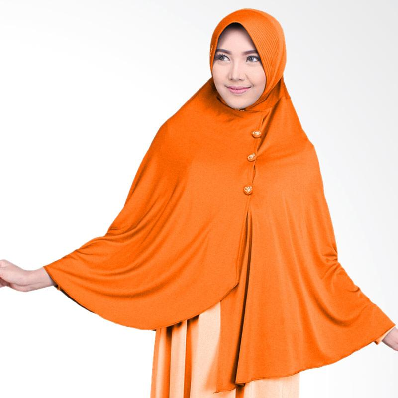 Nafisa Production Savadhani Jilbab Instant - Orange