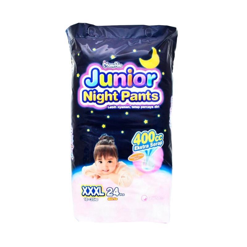 MamyPoko Junior Night Pants Popok Girls [XXXL/24Pcs]