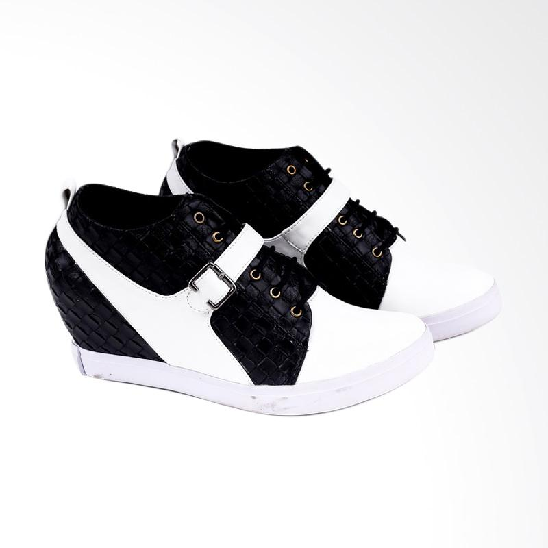 Garucci GLI 5147 Wedges Shoes Wanita - Black