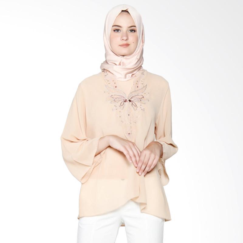 Yanna Azwar Berta Blouse Muslim - Cream