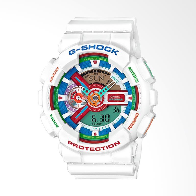 CASIO G-Shock Jam Tangan Pria - White GA-110MC-7ADR