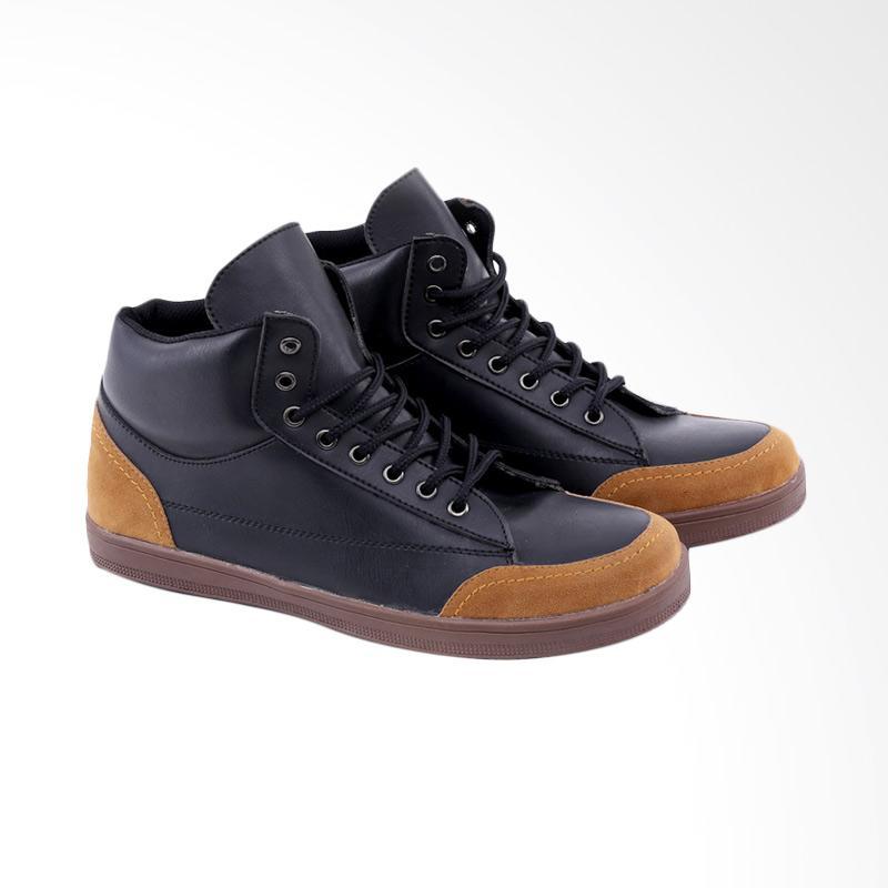 Garucci GRW 1269 Sneakers Shoes Sepatu Wanita - Black