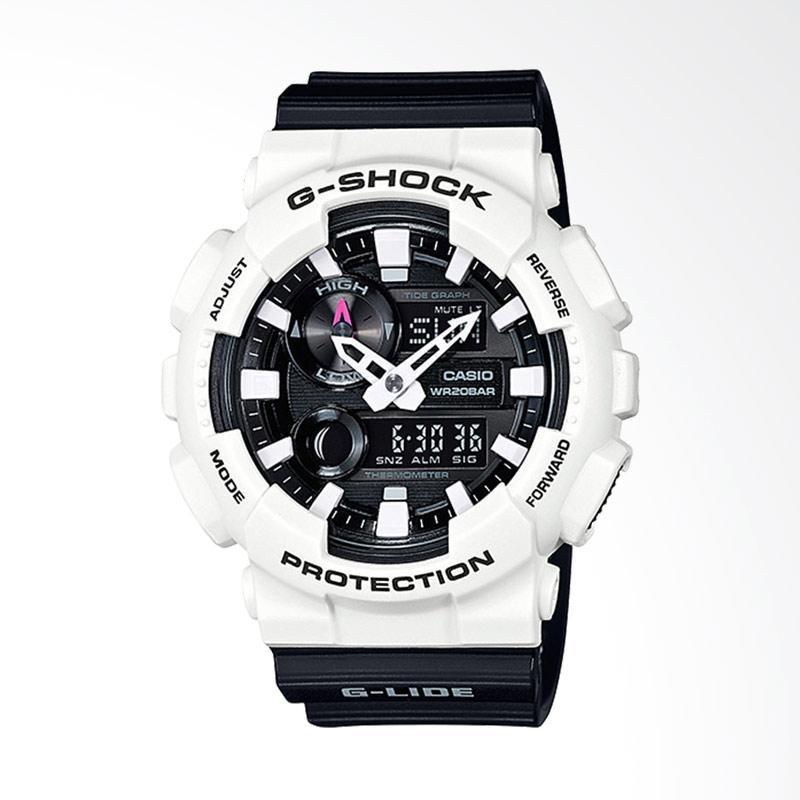 CASIO G-Shock Jam Tangan Pria - Black White GAX-100B-7ADR