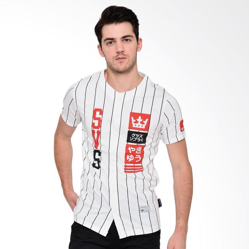 17seven Original Jersey 59 SVS T-shirt Pria - White