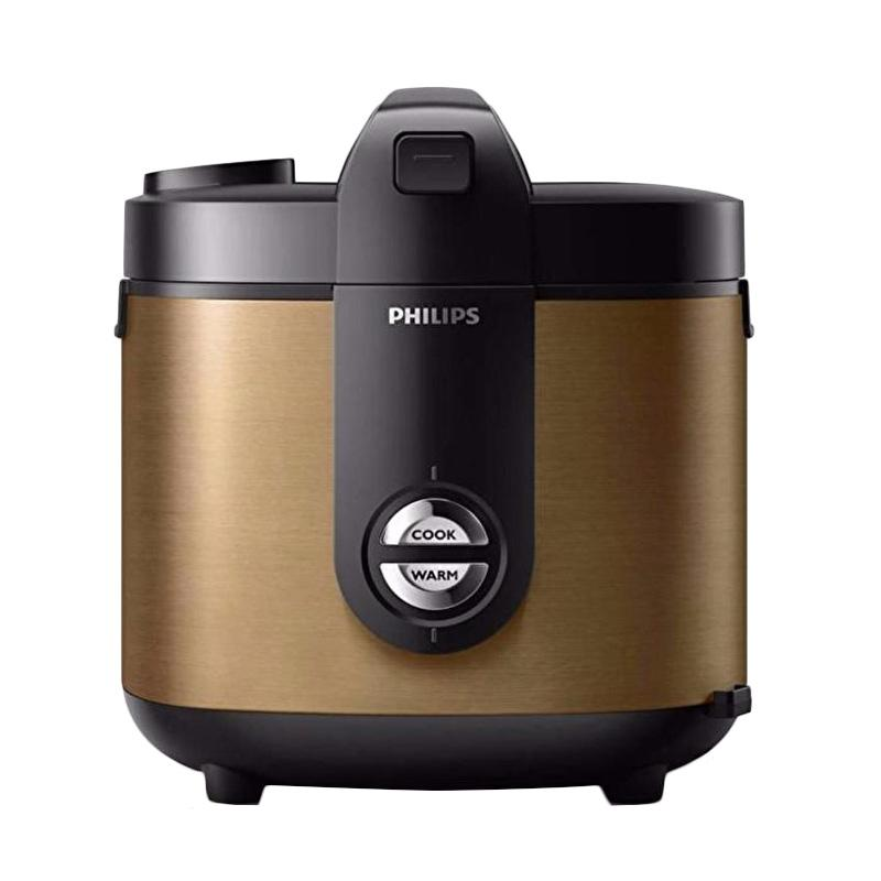 PHILIPS HD3128-34 Viva Collection Jar Rice Cooker - Gold [2 L]