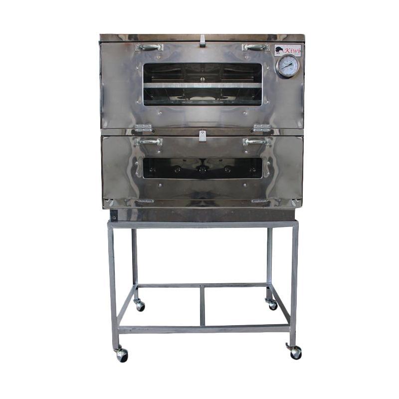 Kiwi Oven Gas Stainless Steel Ukuran 85cm