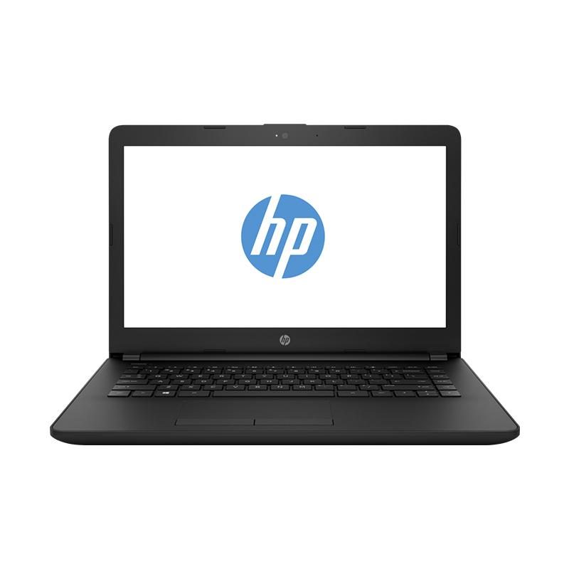 harga HP 14-bw015au New 2 Core plus 3 GPU more Powerfull Notebook - Black [AMD 7th Gen A9-9420/4GB/500GB/14Inch/Dos] Blibli.com