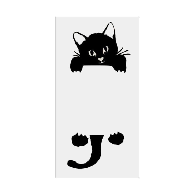 OEM Motif Kucing Unik Cat Decal Dekorasi Lampu Saklar Wall Sticker