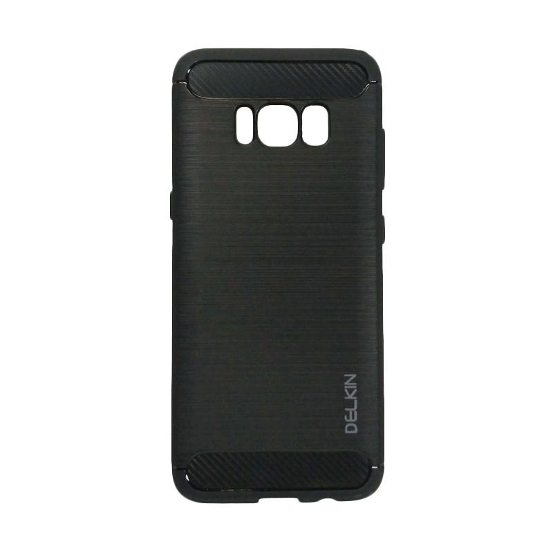 Delkin Slim Carbon Armor Casing for Samsung Galaxy S8 - Hitam