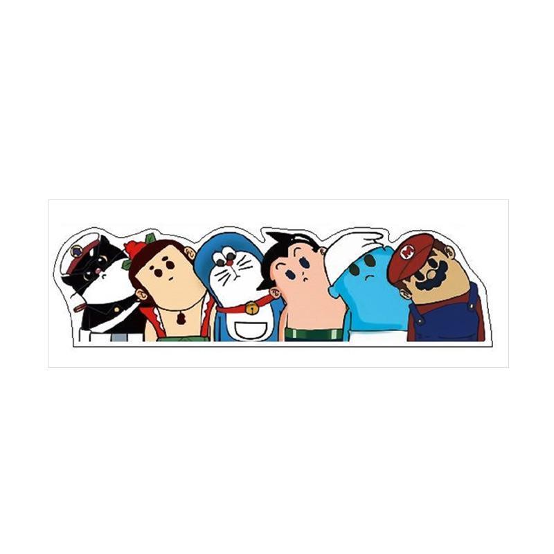 harga OEM Aksesoris Doraemon Mario Bros Kepala Geleng Sticker Mobil or Motor Blibli.com