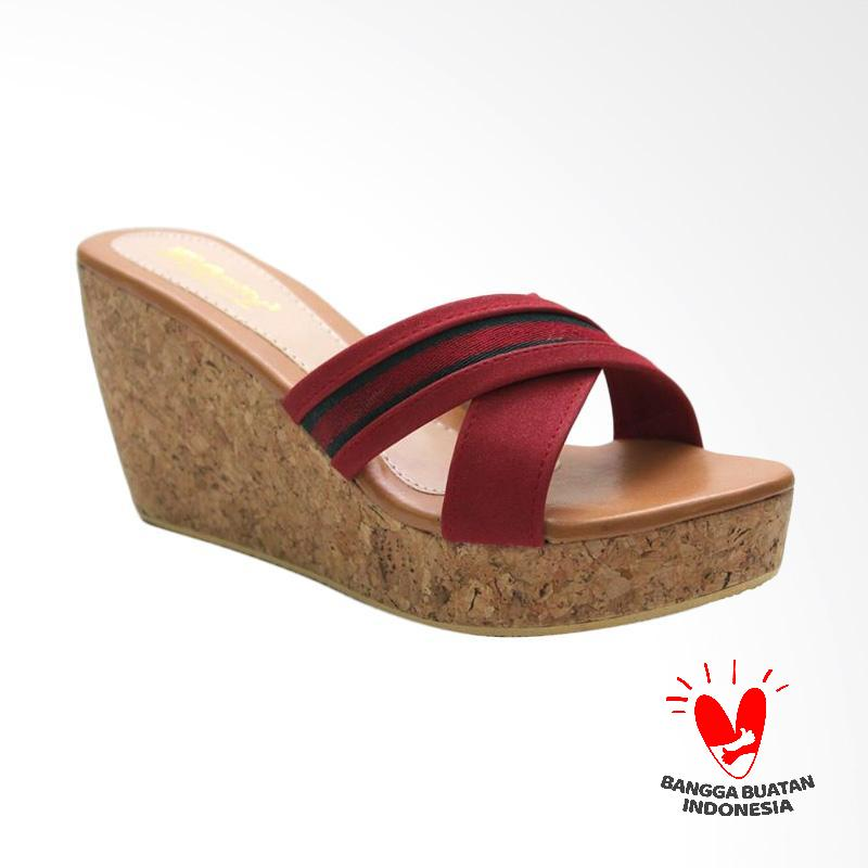 Grutty GR 82113 Sandal Wedges Wanita