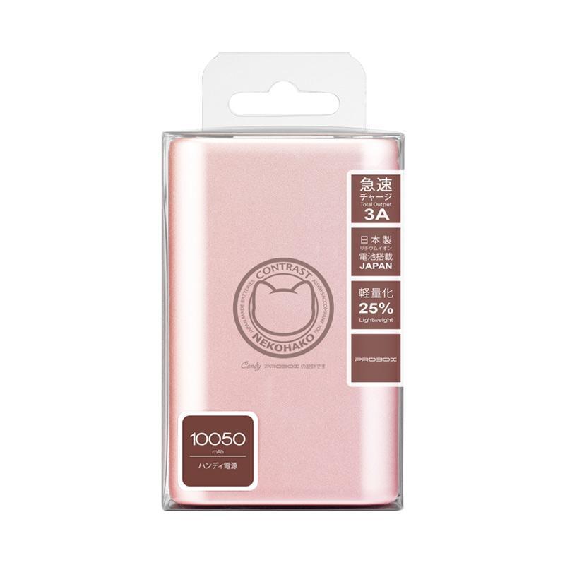 Probox Neko Monogatori Powerbank - Rose Gold [100050 mAh/Output 2.1 A]