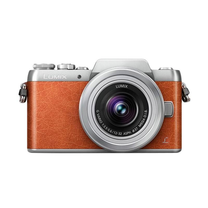 Panasonic Lumix DMC GF8 Kit 12-32mm Kamera Mirrorless - Orange